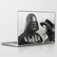 casablanca Laptop & iPad Skins featuring Darth Vader in Casablanca by Luigi Tarini
