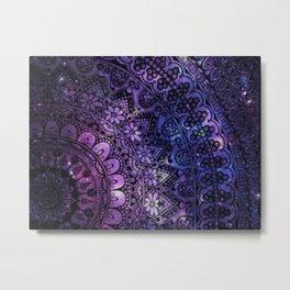 Galaxy Aztec Metal Print