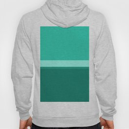 Teal Blue Geometric Hoody