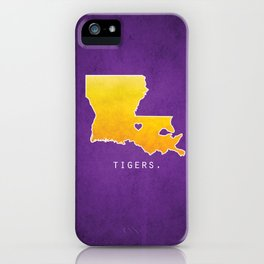Louisiana State Tigers iPhone Case