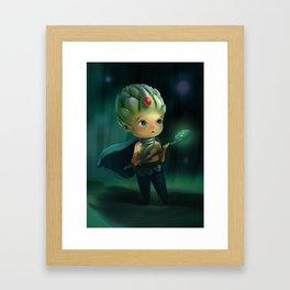 Artichoke Warrior  Framed Art Print