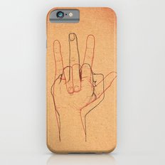 Love and Hate Slim Case iPhone 6s