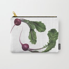 Scarlet Turnips Carry-All Pouch