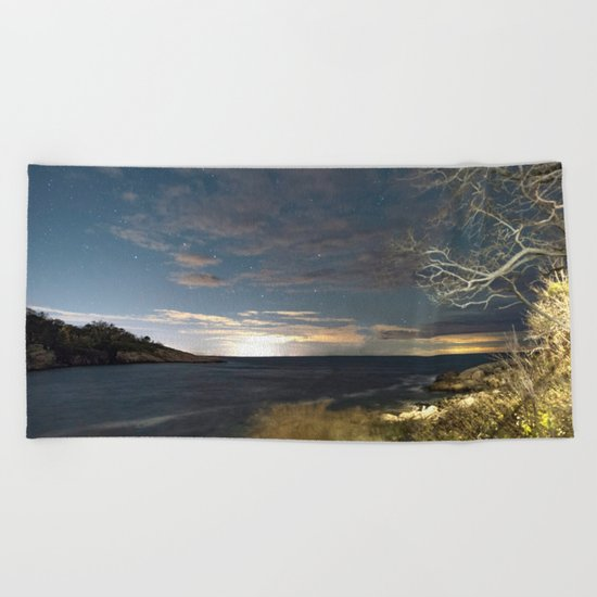 Big Dipper at Folly Cove Beach Towel