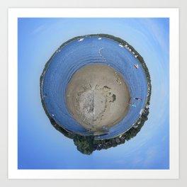 Planet Buttermilk Art Print