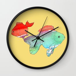 How we missed each other Wall Clock