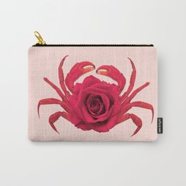 ROSE CRAB Carry-All Pouch
