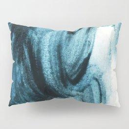 1 2 3 1 : blue abstract Pillow Sham
