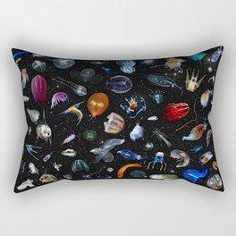 Aliens of the Deep Rectangular Pillow