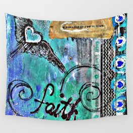 Faith in the Journey Wall Tapestry