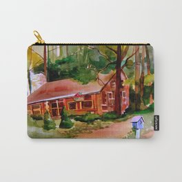 Little Log Cabin Carry-All Pouch