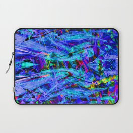 Electric Blue Laptop Sleeve