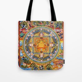 Mandala Buddhist 2 Tote Bag