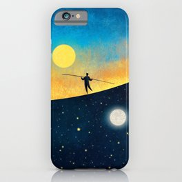 The Tightrope Walker iPhone Case
