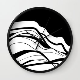 Black & white / minimalist Wall Clock
