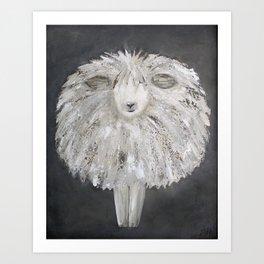 Wooly Sheep Kunstdrucke