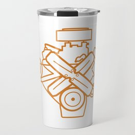 273 Commando - Engine Outline Travel Mug