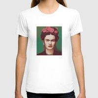 frida T-shirts featuring Frida by ravynka
