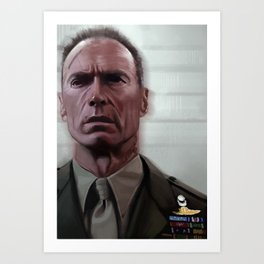 Eastwood / Heartbreak Ridge Art Print