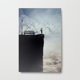 between the skies Metal Print