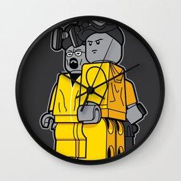 Bricking Bad Wall Clock