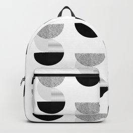 Mid-Century Modern Abstract Geometric Art Backpack
