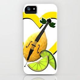 i love limoncello iPhone Case