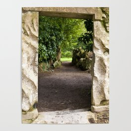 Through the Stone Wall Poster