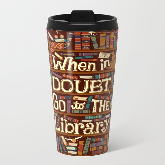 Go to the library Metal Travel Mug