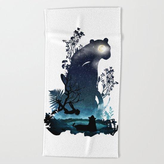 Brothers Beach Towel