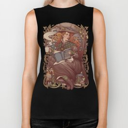 NOUVEAU FOLK WITCH Biker Tank
