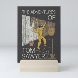 Books Collection: Tom Sawyer Mini Art Print