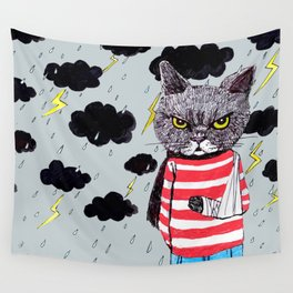 When It Rains, It Pours... Wall Tapestry
