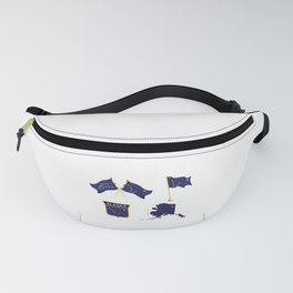 Alaska Flag Happy National Alaska Day Fanny Pack