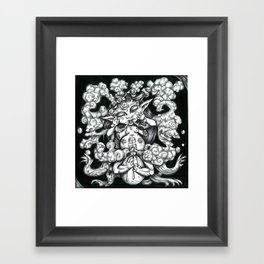 Phantom Framed Art Print