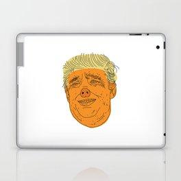 PIG TRUMP Laptop & iPad Skin