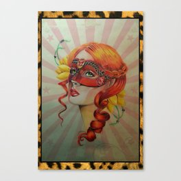 Venetian Girl Canvas Print