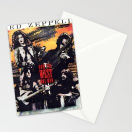 How the West Was Won Led (Live) [Remastered] by Zeppelin Stationery Cards