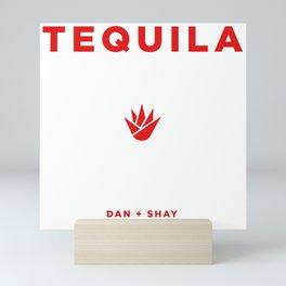 DAN SHAY TEQUILA TOUR DATES 2019 KEDATON Mini Art Print