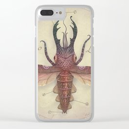 Stag Squid Clear iPhone Case