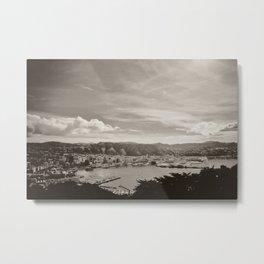 Wellington from Mt Vic Metal Print
