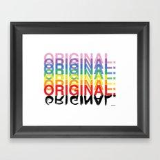 Original. Framed Art Print