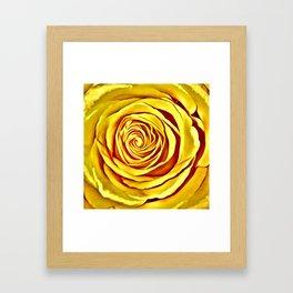 The Yellow Rose of Texas Framed Art Print