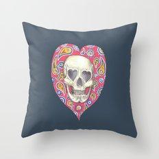 Skulladelia Throw Pillow