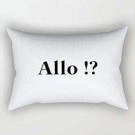 94. Hello Rectangular Pillow