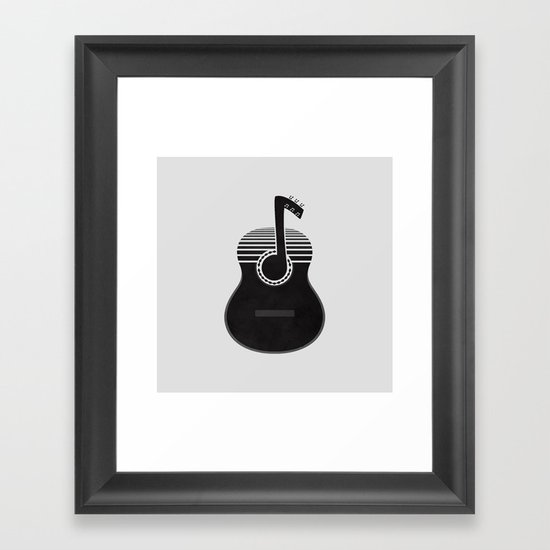 Classical Notes Framed Art Print