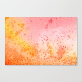 Vintage Paper Texture - Pastel Fantasy Canvas Print