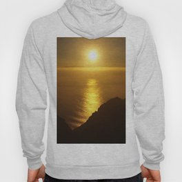 Sunset over the Canary islands Hoody