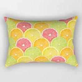 fresh fruit Rectangular Pillow