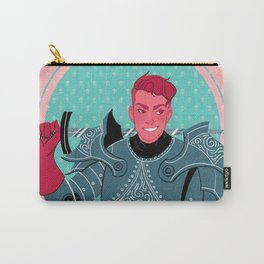 Lieutenant of the Bull's Chargers Carry-All Pouch